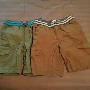 Set of Old Navy boy shorts